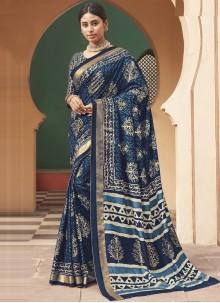 Weaving Multi Colour Silk Designer Traditional Saree