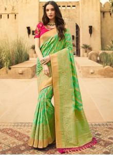 Weaving Party Classic Designer Saree