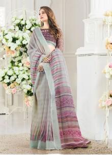 Weaving Silk Casual Saree