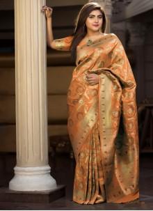 Weaving Silk Classic Saree