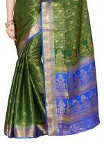 Weaving Work Kanchipuram silk Classic Designer Saree