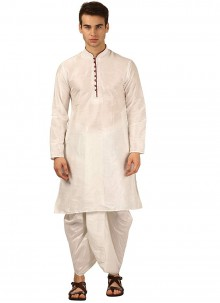 White Color Dhoti Kurta