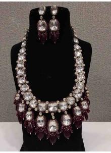 White Color Necklace Set