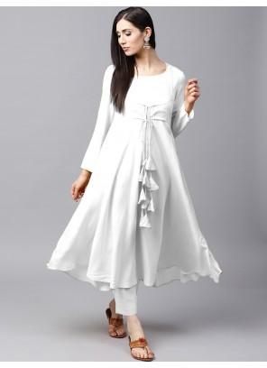 White Color Salwar Suit
