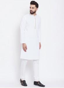 White Festival Kurta Pyjama