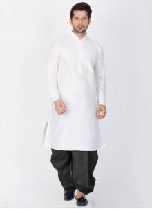 White Sangeet Kurta Pyjama