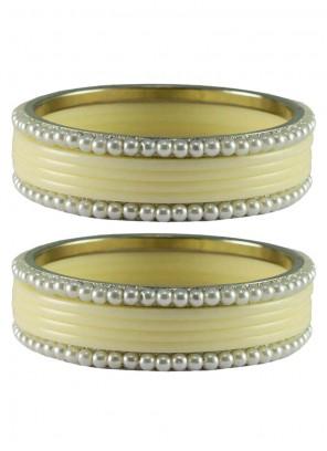 White Wedding Bangles