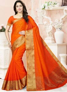Wonderous Weaving Work Traditional Designer Saree