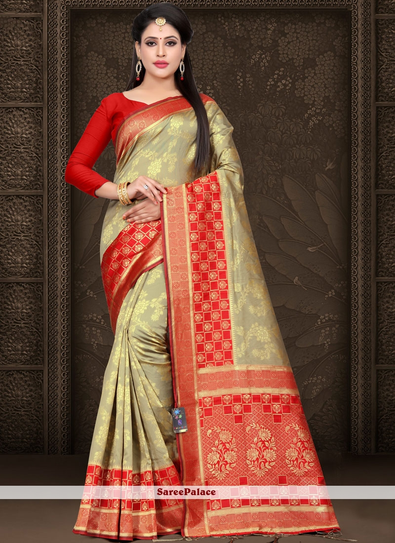 a57193ef83 Buy Woven Art Silk Traditional Saree Online