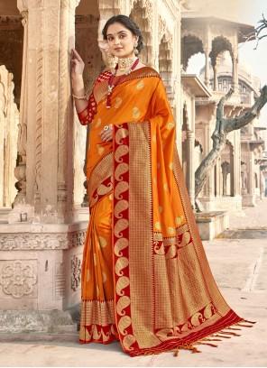 Woven Banarasi Silk Classic Designer Saree