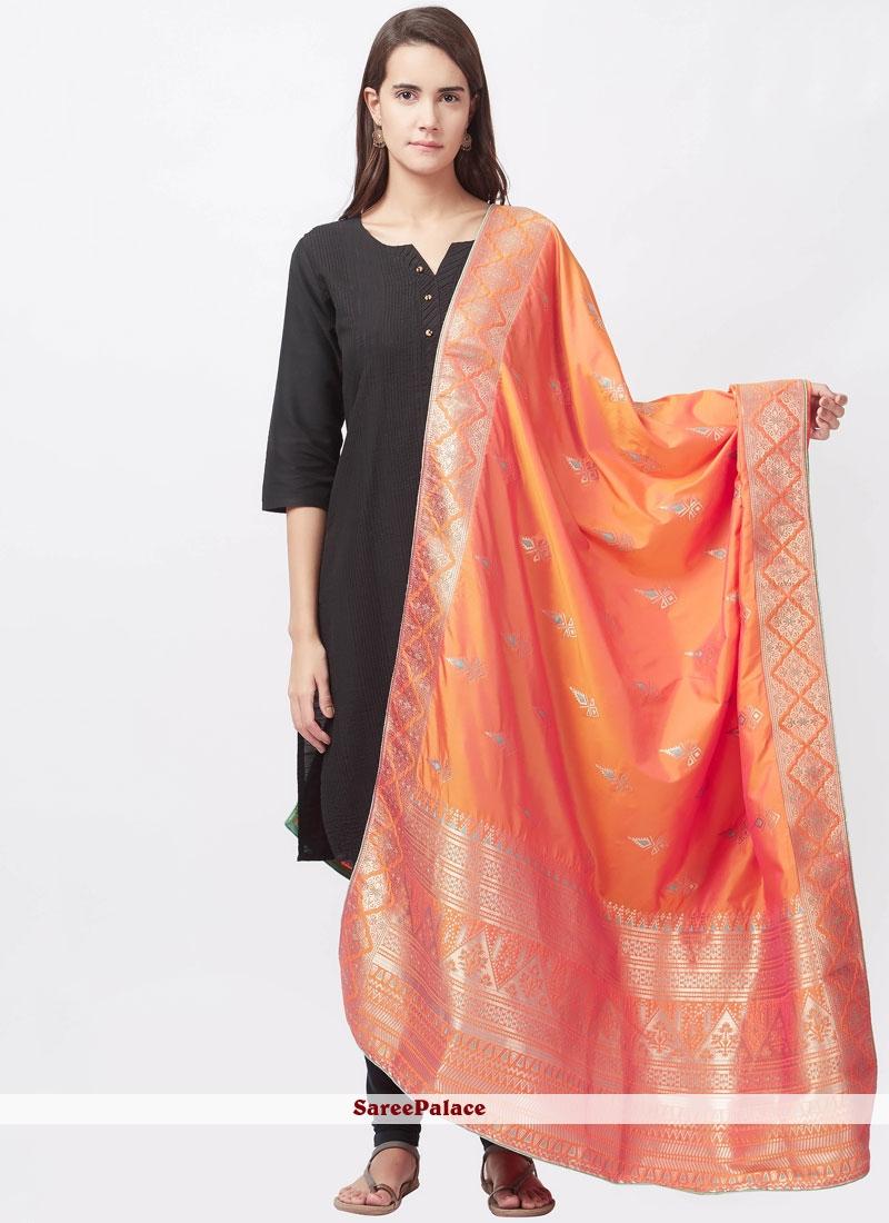 woven Work Churidar Suit