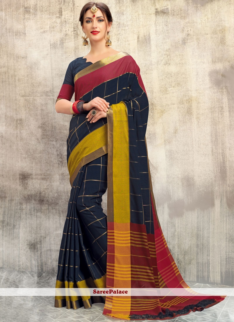 woven Work Fancy Fabric Traditional  Saree
