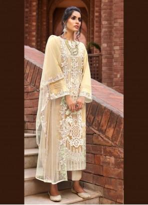 Yellow Ceremonial Designer Pakistani Salwar Suit
