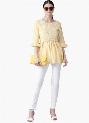 Yellow Kurta