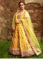 Yellow Party Designer Lehenga Choli