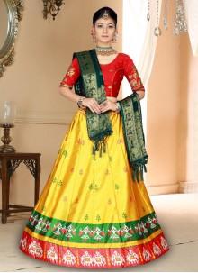 Yellow Trendy Lehenga Choli