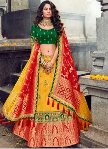 Yellow Wedding Designer Lehenga Choli