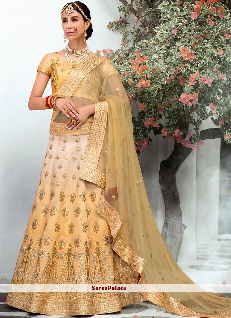 Yellow Wedding Lehenga Choli