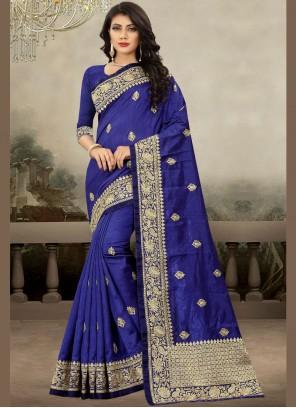 Zari Art Silk Traditional Designer Saree