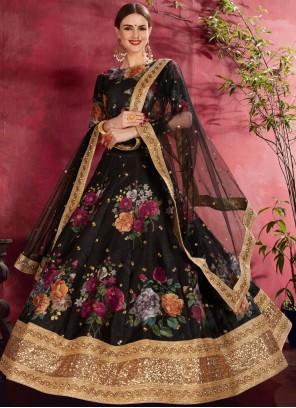 Zari Banglori Silk Lehenga Choli