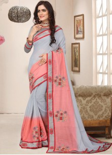 Zari Cotton Silk Trendy Saree