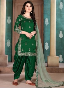 Zari Party Designer Salwar Suit