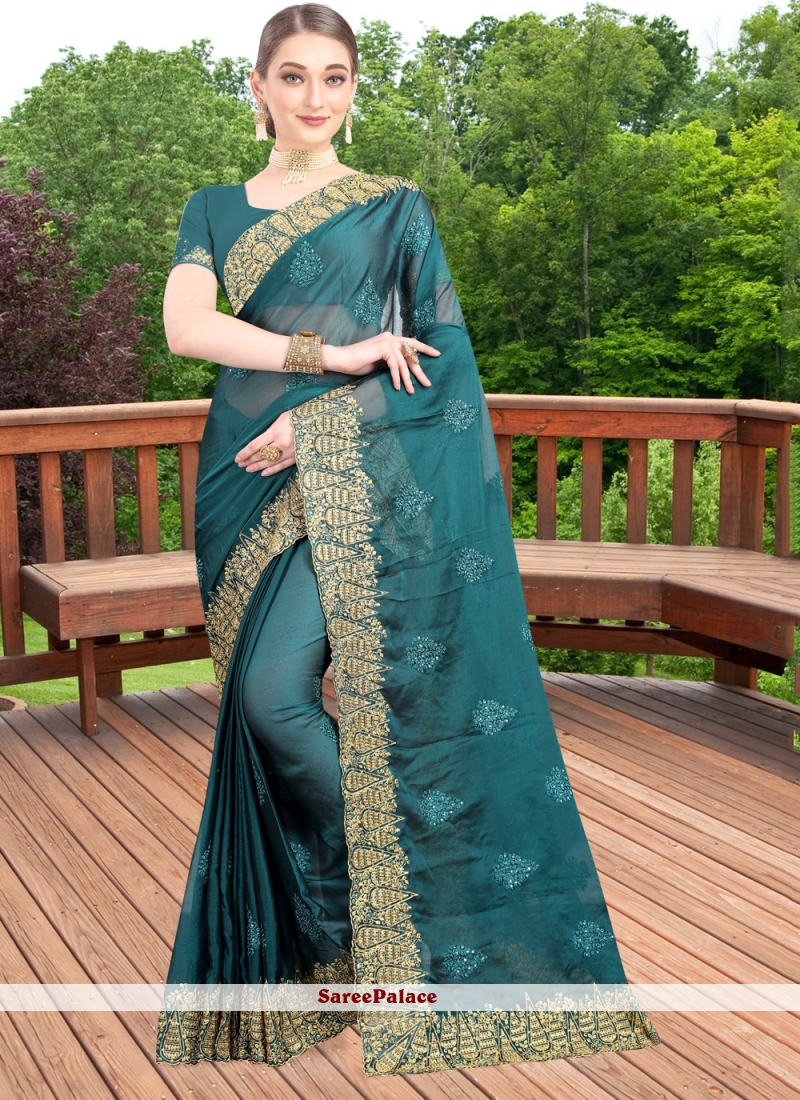 Zari Reception Bollywood Saree