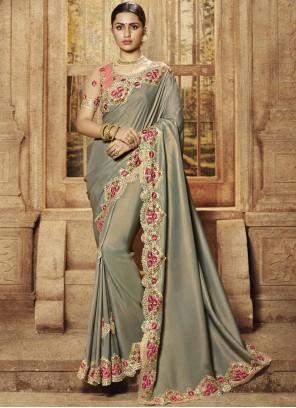 Zari Reception Designer Traditional Saree