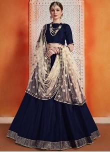 Zari Wedding A Line Lehenga Choli