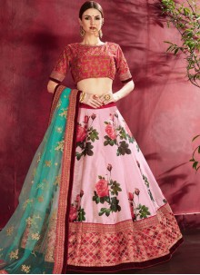 Zari Wedding A Line Lehenga Choli