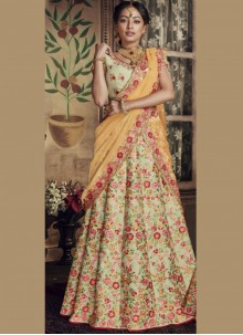Green Zari Wedding Lehenga Choli